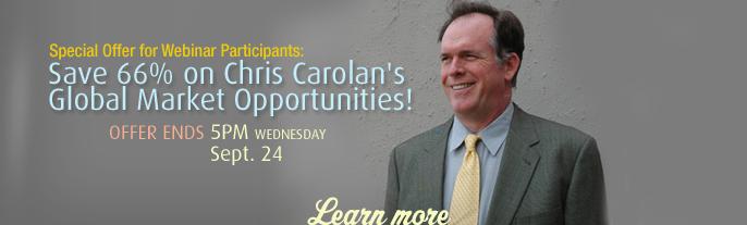 Chris Carolan Webinar